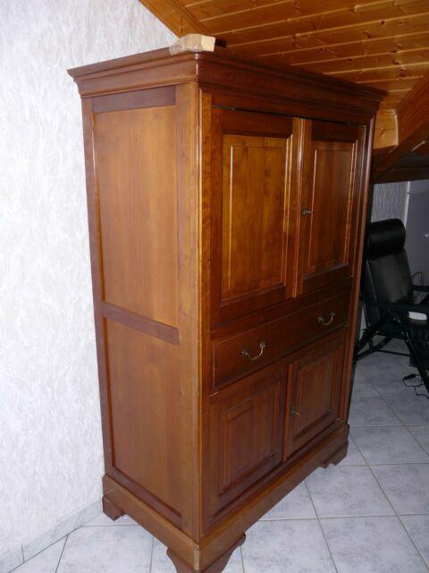 meuble tv merisier haut