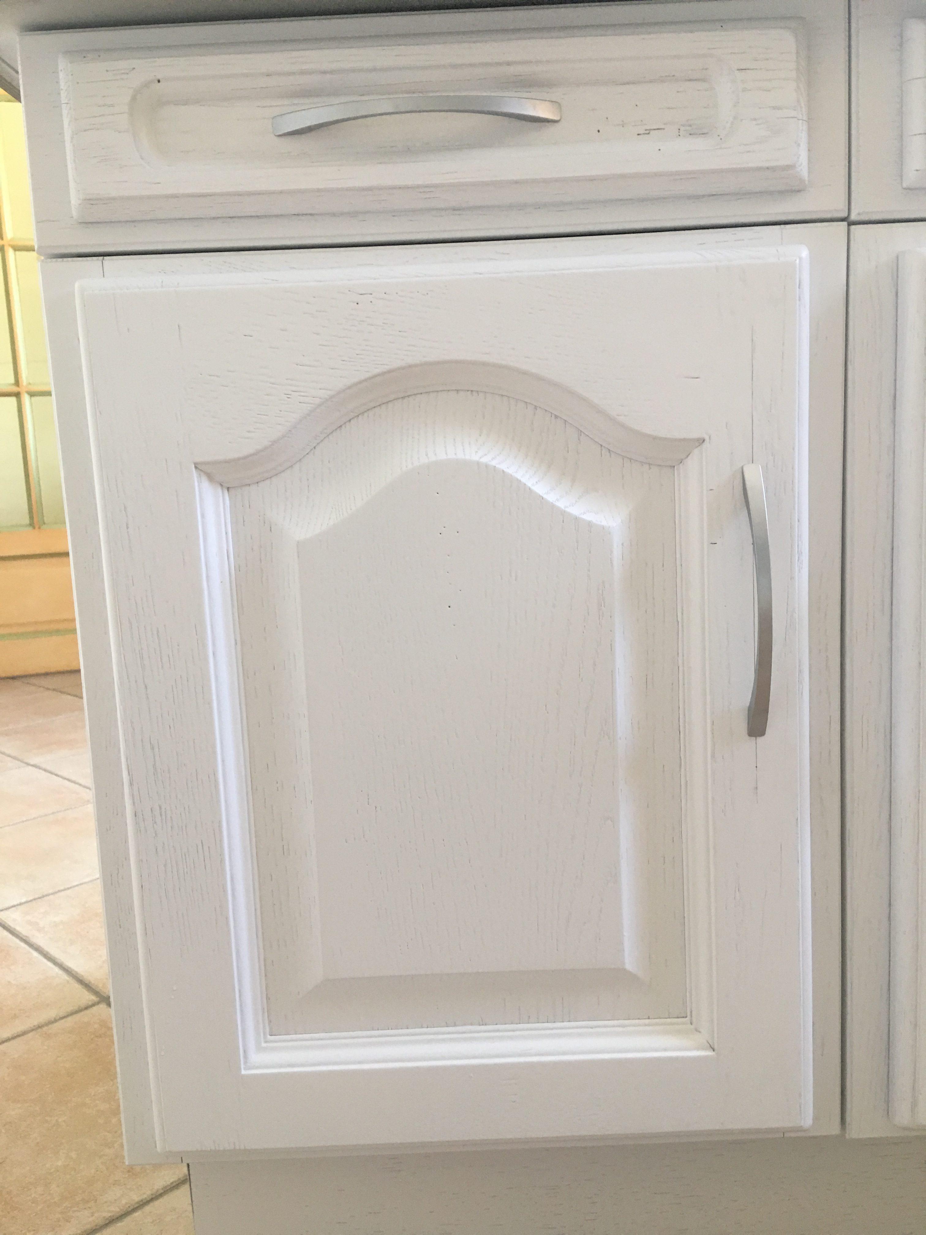 zoom porte blanc uni